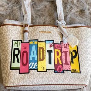MK Road trip tote bag
